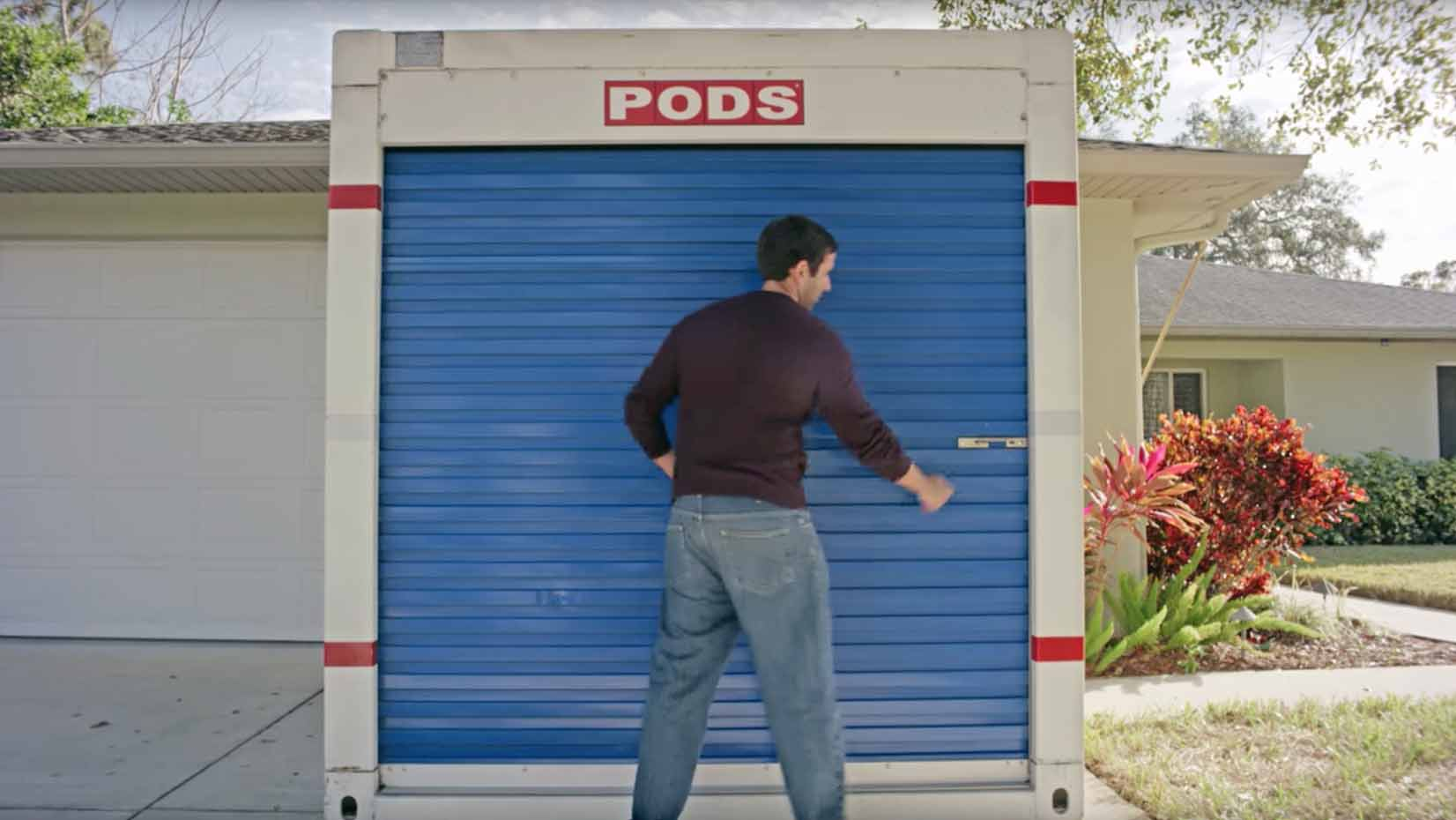 how to load storage container