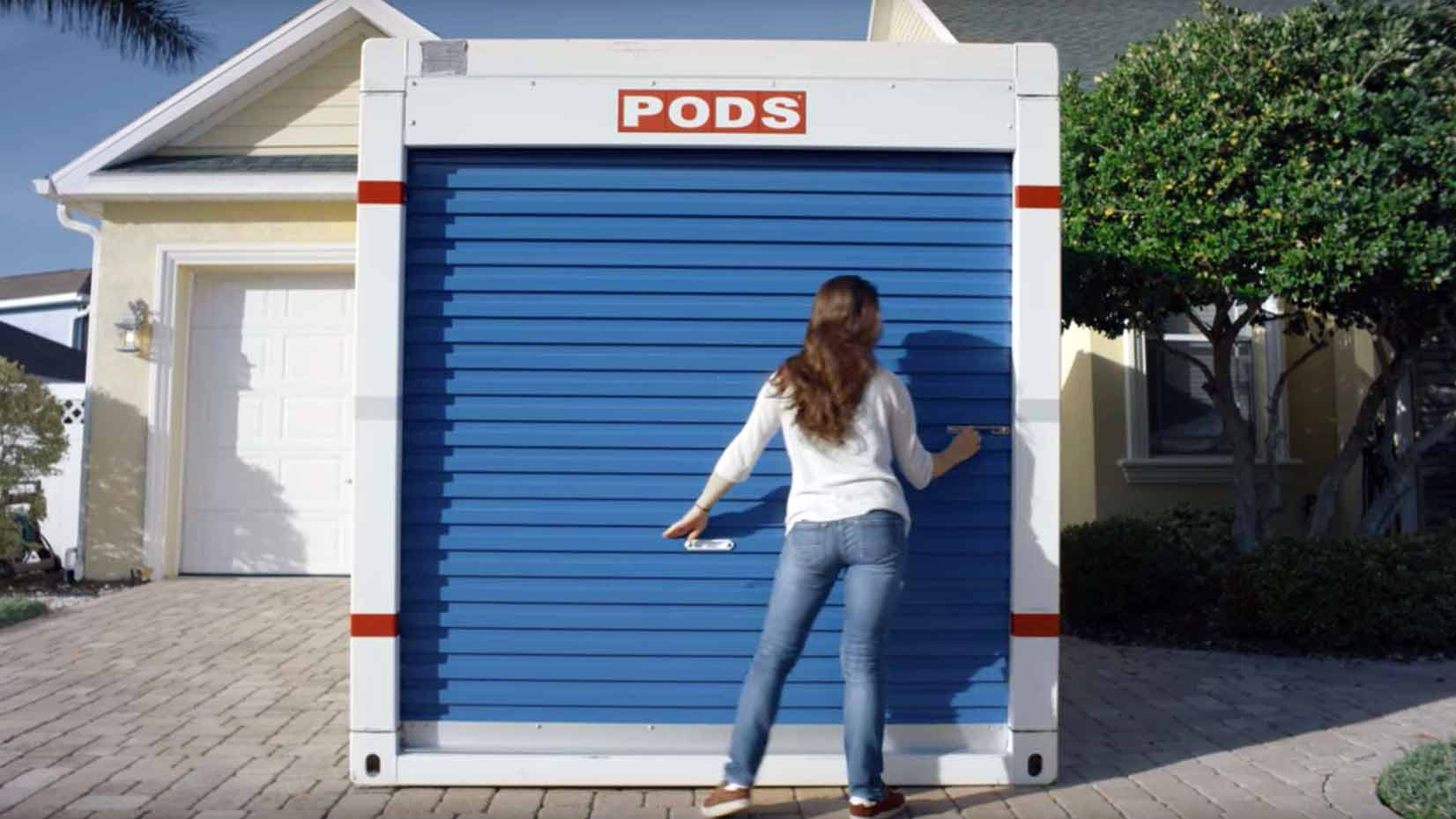 loading your storage container