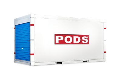 PODS 16 foot storage container