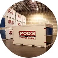 Solutions d'entreposage PODS